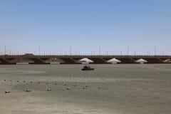 Мост в Абу-Даби Стоковое Изображение