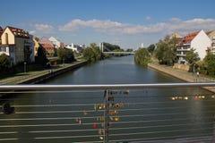 Мост в Бамберг Стоковые Изображения