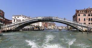 Мост в Венеции, Италии Стоковое Изображение