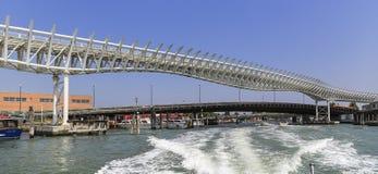 Мост в Венеции, Италии Стоковая Фотография