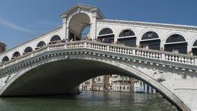 Мост в Венеции, Италии Стоковая Фотография RF