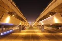 Мост в городе Стоковое Изображение RF