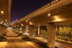 Мост в городе Стоковые Изображения RF