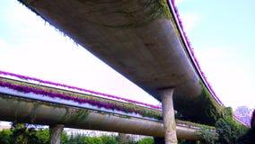 Мост в городе Стоковое фото RF