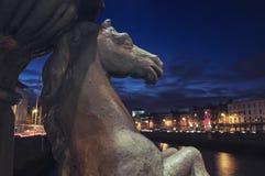 Мост в Дублине Стоковые Изображения