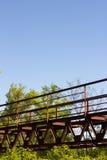 Мост в зеленом цвете Стоковые Изображения RF