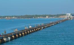 Мост в море стоковое фото rf