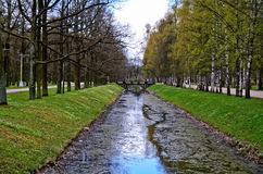 Мост в парке Александра Стоковые Фото