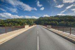 Мост в перспективе Стоковое Изображение