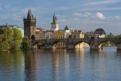 Мост в Прага, Чешская Республика Charles стоковое фото
