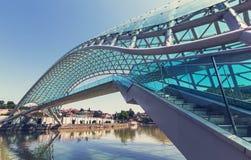 Мост в Тбилиси Стоковое Изображение