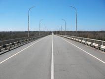 Мост в Чернобыль Стоковое Изображение RF