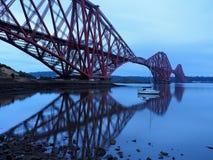 Мост в Эдинбурге Стоковое Изображение RF