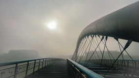 Мост влюбленности Стоковые Фото
