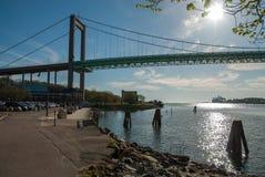 Мост в Göteborg Швеции стоковое фото rf