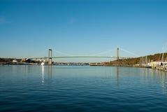 Мост в Göteborg Швеции стоковые фотографии rf