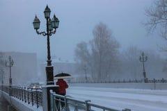 Мост в Gusev Стоковые Изображения RF