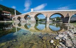 Мост в Konjic Стоковое Изображение RF