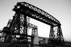 Мост, в La Boca, Buenos Aires Стоковые Фото