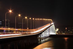 Мост в macau стоковые фотографии rf