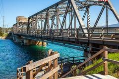Мост в Narooma Австралии стоковые фотографии rf