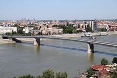 Мост в Novi унылом стоковое изображение