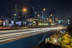 Мост в Sathorn Бангкоке Стоковое фото RF