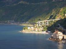 Мост в Scilla Стоковая Фотография RF