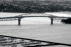 Мост гавани Окленда в Окленде Новой Зеландии NZ Стоковая Фотография RF