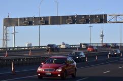 Мост гавани Окленда - Новая Зеландия Стоковое фото RF