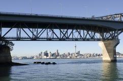 Мост гавани Окленда - Новая Зеландия Стоковые Фото