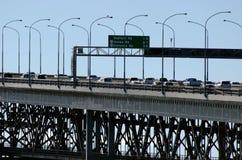 Мост гавани Окленда Стоковое Изображение RF