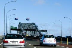 Мост гавани Окленда Стоковые Изображения