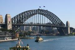 Мост гавани Сиднея Стоковое фото RF