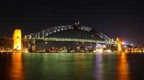 Мост гавани Сиднея Стоковые Фото