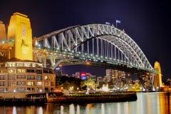 Мост гавани Сиднея Стоковые Изображения