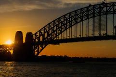 Мост гавани. Сидней Стоковые Фото