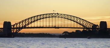 Мост гавани Сидней Стоковое Изображение RF