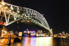 Мост гавани Сидней Стоковое фото RF