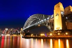Мост гавани Сидней Стоковые Изображения
