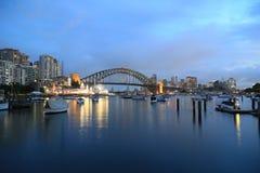 Мост гавани Сидней Стоковое Изображение