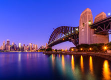 Мост гавани Сидней Стоковые Фотографии RF