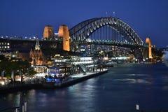 Мост гавани Сиднея Стоковая Фотография