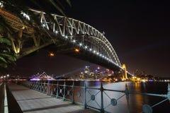 Мост гавани Сиднея Стоковое Фото