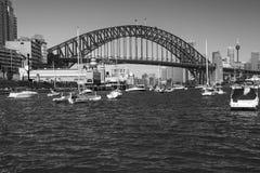 Мост гавани Сиднея стоковые изображения rf