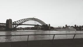 Мост гавани Стоковая Фотография