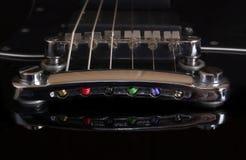 Мост гитары стоковые фотографии rf