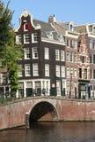 мост Голландия amsterdam Стоковое Изображение RF