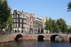 мост Голландия amsterdam Стоковые Фото