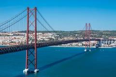 Мост городка стоковое фото